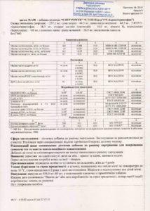 Сертификат пятерка НСП