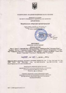 Сертификат Бон-Си НСП