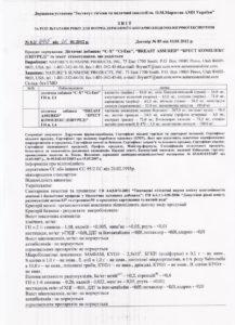 Сертификат Брест комплекс NSP