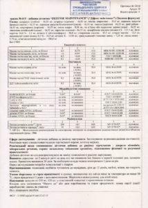 Сертификат Защитная формула NSP