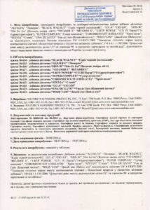 Сертификат HSN-W NSP