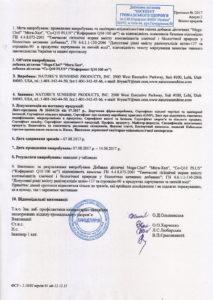 Сертификат Мега-Хел НСП