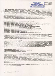 Сертификат Милк Тисл НСП