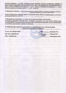 Сертификат на пасту Саншайн Брайт