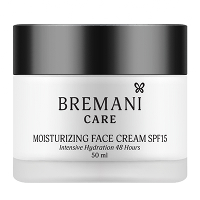 Увлажняющий крем для лица SPF15 Bremani Care